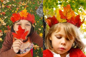 manualidades-corona-hojas-secas